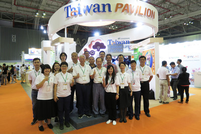 Taiwan companies promote biotech products at Vietstock 2018 exhibit in Vietnam