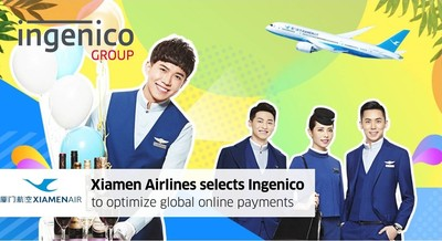 廈門航空與Ingenico攜手優化全球線上支付