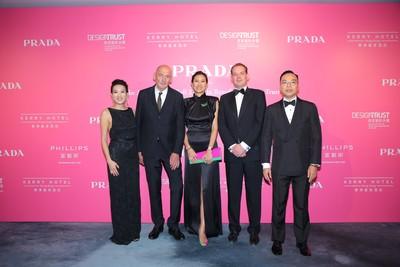 Prada呈獻信言設計之夜2018 為信言設計大使籌募經費