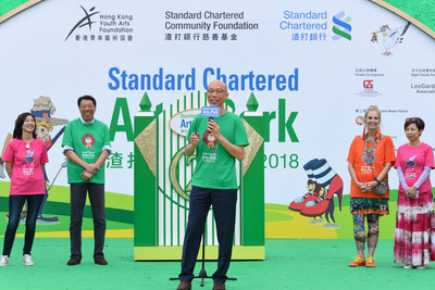 Standard Chartered Arts in the Park 2018 a Great Success