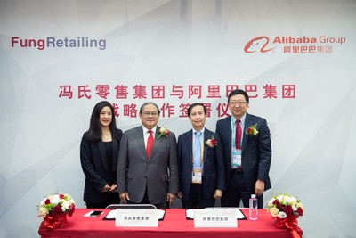 Alibaba Group and Fung Retailing Form Strategic Partnership