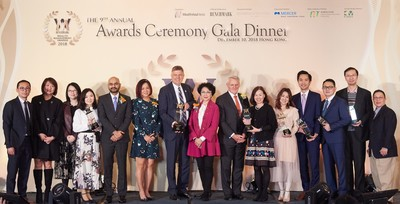 香港大都會人壽勇奪「保險企業年度大獎」