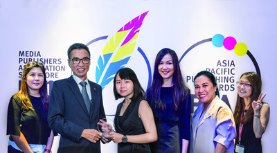 MIMS Receives Three Awards from the Media Publishers Association Singapore