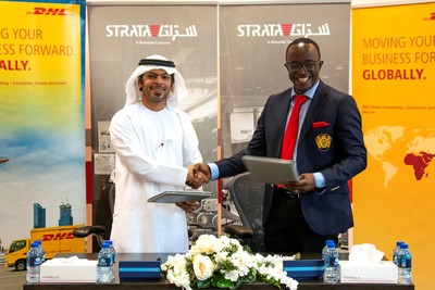 UAE's Strata Manufacturing partners with DHL Global Forwarding to bolster aerospace supply chain