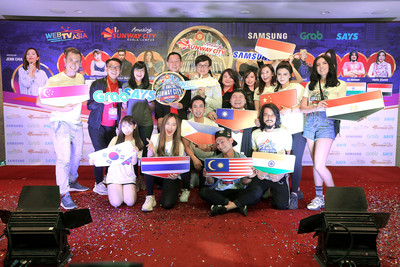 亞洲網紅決戰吉隆坡雙威城