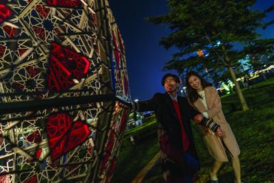 International Light Art Display Showcases New Installations