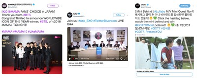 #KPopTwitter continues to make Hallyu Waves with record 5.3 billion Tweets globally in 2018 1