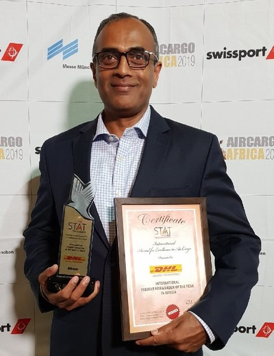 DHL Global Forwarding named Africa's International Freight Forwarder of the Year for fifth consecutive time 1