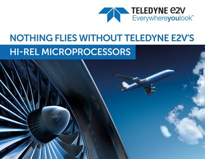 Teledyne e2v releases first military qualified Arm® based processor for Hi-Reliability applications