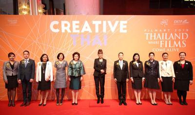 泰國之夜將「創意泰國」精神精彩呈現於香港國際影視展