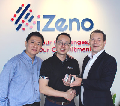 iZeno Awarded SugarCRM Regional Reseller of the Year APAC 1