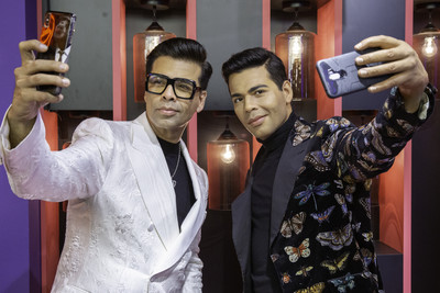 Lights, Camera, Action! Madame Tussauds Singapore launches the NEW Ultimate Film Star Experience with a live side-by-side with Karan Johar 1