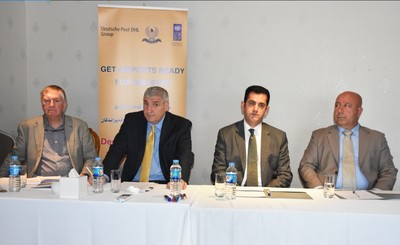 Erbil and Sulaymaniyah International Airports set up their disaster preparedness levels with help from Deutsche Post DHL Group and UNDP 1