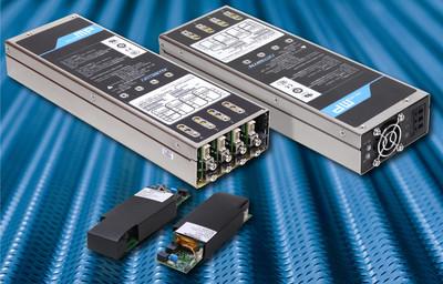 雅特生科技推出適用於第二代MicroMP系列可配置交流/直流電源供應器的全新4插槽電源供應器外殼和保持模組