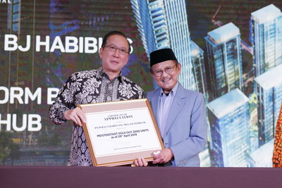 Indonesia 3rd President B.J. Habibie's US$1B superblock in Batam Attracts Global Investors with the Launch of Luxury Erleseen Tower 1