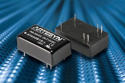 雅特生科技的工業用直流/直流電源轉換器系列又增添另一款10W輸出並採用小巧型DIP封裝的新型號