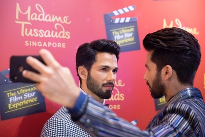 Shahid Kapoor joins the Ultimate Film Star Experience & unveils his unique wax figure with Madame Tussauds Singapore 1