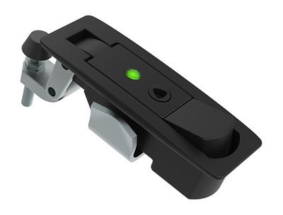 索斯科的新杠杆门锁带开关状态指示灯