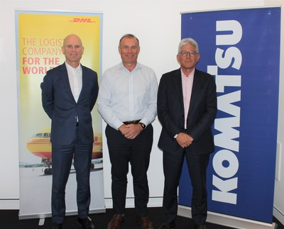 Komatsu signs multi-year deal with DHL in Australia to import over a million kg of machinery parts 1