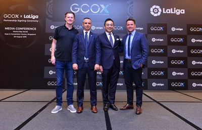 LaLiga & GCOX Seal Partnership for Asia and the Middle East