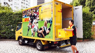 DHL delivers Rugby World Cup 2019™ to Japan