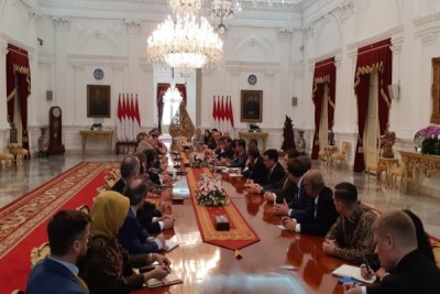 EU ABC - First Business Council to Meet President Jokowi