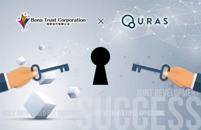 QURAS project team and Bona Trust Corporation successfully joint developed beta version of fully anonymized file sharing software with multiple approvers for Information Security Management