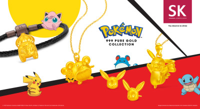 Get Supercharged this Year of the Rat with SK Jewellery Pokémon Collection
