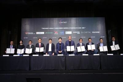 Lightnet Raises $31.2 Million in New Series A Financing