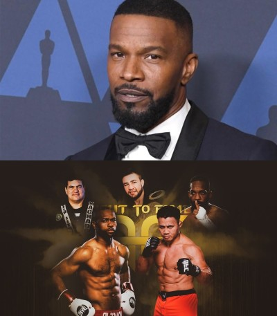 International Superstar Jamie Foxx Cooperates with FightToFame in His New Film