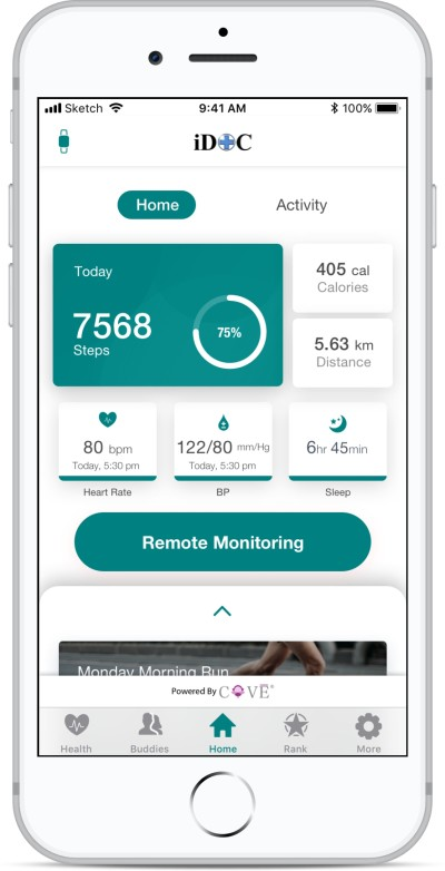Singapore IoT and smart wearables firm KaHa teams up with healthcare partner EasyCare International (iDOC) to launch Remote Monitoring Solution
