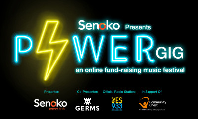 Senoko Energy presents Power Gig - a weekend long online music festival by local artistes to raise funds for Community Chest's The Invictus Fund