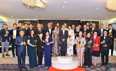 Asian Leaders, Top Employers and Top Brands are Crowned Asia's Best in Class at Influential Brands® 2019 Asia CEO Summit Award Ceremony