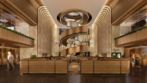 Lead8 Design for Newly Unveiled '11 SKIES' in Hong Kong