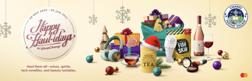 Leap Into iShopChangi's Happy Haulidays Specials Featuring Exclusive Discounts and Promotions