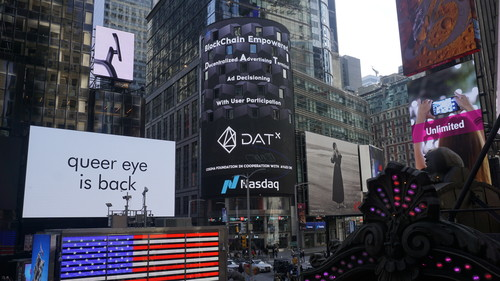Advertising-centric Blockchain, DATx, Successfully Concludes Inaugural Token Sale