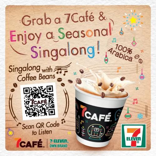 Grab a 7Café & Enjoy a Seasonal Singalong!