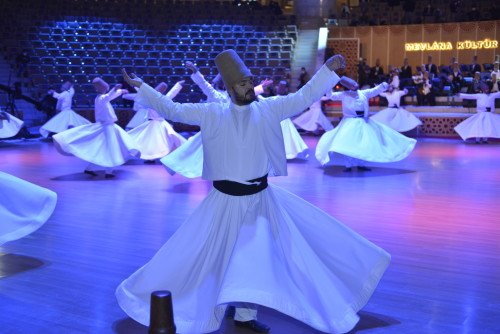 Rumi commemorated 747th Death Anniversary at Seb-i Arus ceremonies in Konya