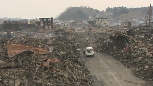 NHK WORLD-JAPAN นำสำรวจความหายนะของคลื่นยักษ์สึนามิ