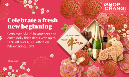 Celebrate Lunar New Year with iShopChangi's Exclusive Discounts and Promotions