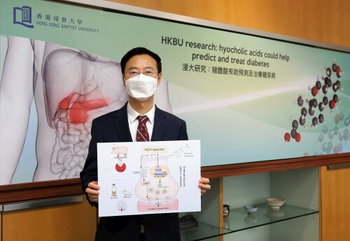 Hong Kong Baptist University-led research reveals hyocholic acids are promising agents for diabetes prediction and treatment