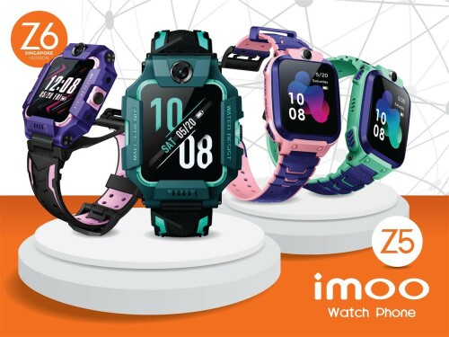imoo Singapore Leverages on Technology to Enhance Children Safety With Upcoming Launch of Watch Phone Z6