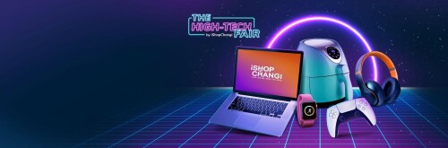 Upgrade Your Gadgets with iShopChangi's High-Tech Fair
