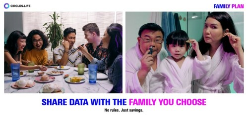 Circles.Life Reveals its New No-Contract Family Plan in Singapore & Redefines What it Means to Be a Family
