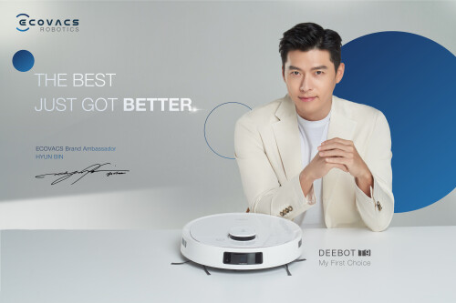 ECOVACS ROBOTICS Appoints Popular Korean Actor Hyun Bin as Brand Ambassador, Adding Excitement To Indonesia Market