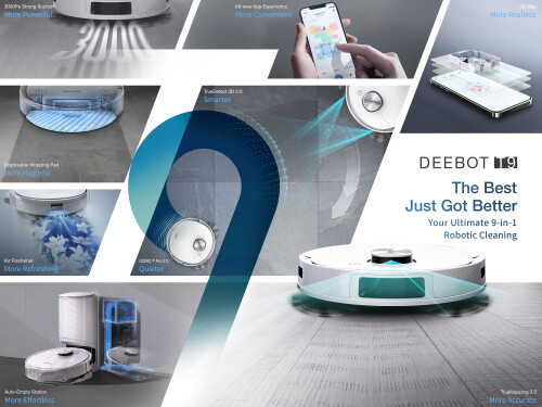 ECOVACS ROBOTICS Introduces 9-in-1 DEEBOT T9 In Vietnam - Our Best DEEBOT Just Got Better!