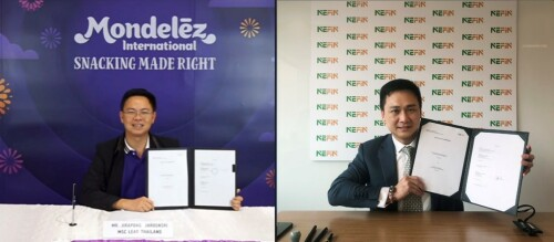 Strong Vision towards Carbon Neutrality Brings NEFIN and Mondelēz International Together