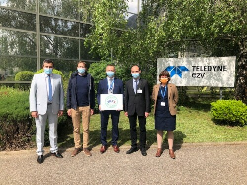 Teledyne e2v Semiconductors is preparing for the future and upgrading its assembly and test cleanroom