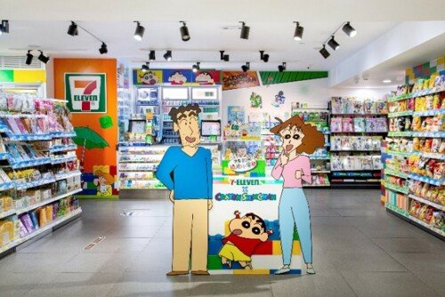 Limited-time 7-Eleven x Crayon Shinchan Themed Stores now open!