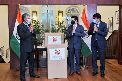 RGE's Global Indian Community Rallies to Support India's COVID-19 Fight